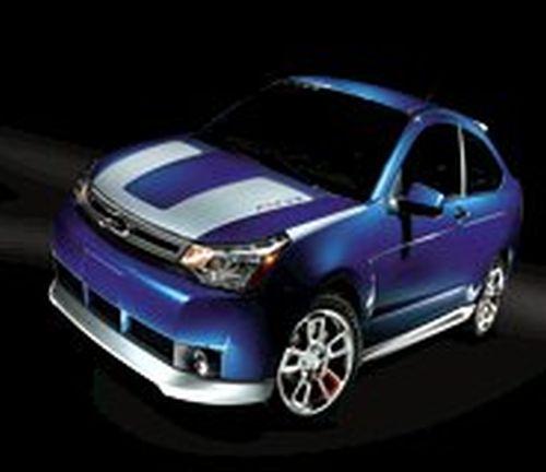 Ford Focus Body Kit >> 2009 Focus Body Kits 5 Piece Kit White Suede