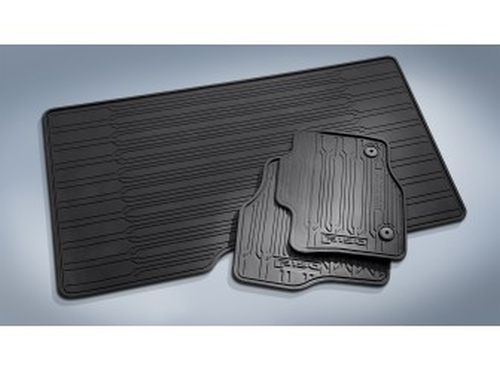 Ford F  Floor Mats All Weather Thermoplastic Rubber  Piece
