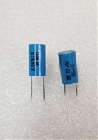 10pz Metallic Polyester Capacitors 2,2nf 2200pf 5mm Capacitor step