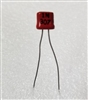 Rare 1N307 Red Germanium Diode Glass