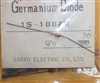 1S188-AM Sanyo Japan Gold Bonded Germanium Diode