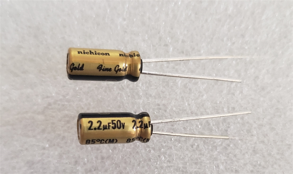 Nichicon MUSE UFG FG Fine Gold 4700uF 6.3V Audio Capacitors Lots of 1 to 10