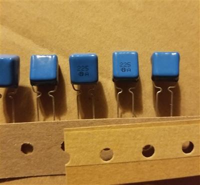 20 piece polypropylene capacitor 100pf 100v ERO Roederstein kp1830