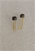 2N4123 NS NPN Amplifier Transistor TO-106 Gold Leads