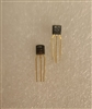 2N4124 Motorola NPN Amplifier Transistor TO-92 Gold Leads