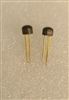 2N4400 NS PNP Amplifier Transistor TO-106 Gold Leads