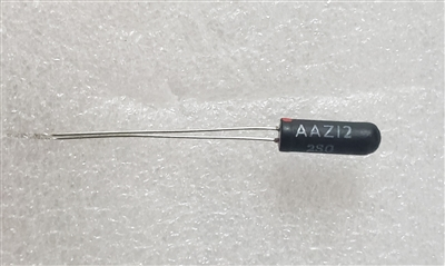 AAZ12 NOS Germanium Diode Philips Black Glass
