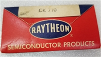 Rare CK710 Black Raytheon Germanium Diode Vintage