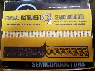 GD543 Glass NOS GI General Instrument Military Germanium Diode 1N34a