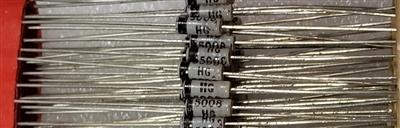 5 ITT Germanium Diode AA 143 NOS DO-7
