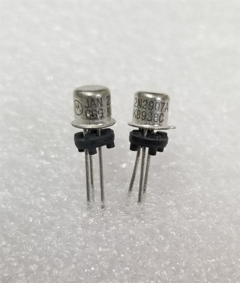 JAN2N2907A MOT Switching PNP Transistor TO-18 Mil Spec