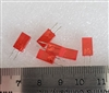 10 Pack Red Square LED's Clipping Diodes