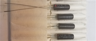 OA5 NOS Germanium Diode Philips Valvo Crystal
