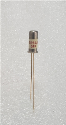 TESLA OA9 NOS Germanium Diode Metal Can Gold Leads
