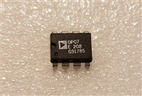 Analog Devices OP07E Single Audio Opamp DIP-8