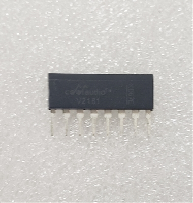 CoolAudio V2181 THAT2181 Clone Compressor On a Chip