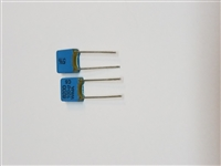 5 PACK WIMA FKS2 .0082UF 100V 5% PET Film Foil Capacitors