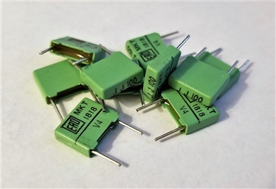 5 Pieces Capacitor Polyester 270nf 63v 5/% ERO Roederstein mkt1826