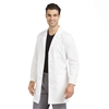 Med Couture Men's Long Lab Coat in White- $36.99