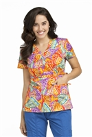 Peaches Print Top in Color Impact