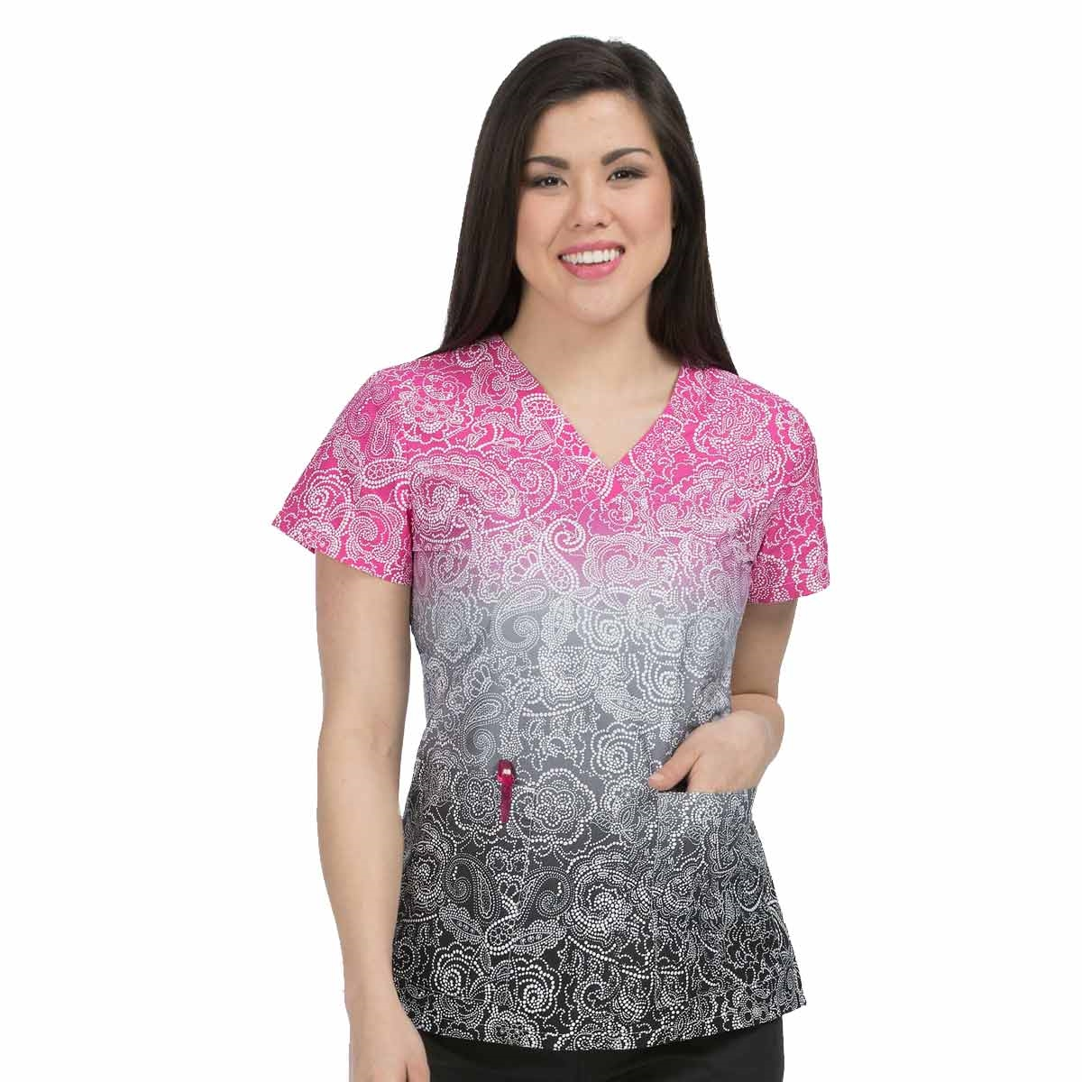 2a1be8dcca0 Med Couture Valerie Print Top Inside Out is the perfect addition to ...