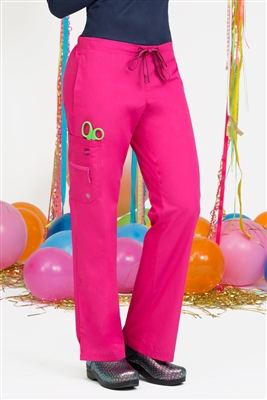 Life is Peachy Kari Pant in Poz-A-Tively Pink