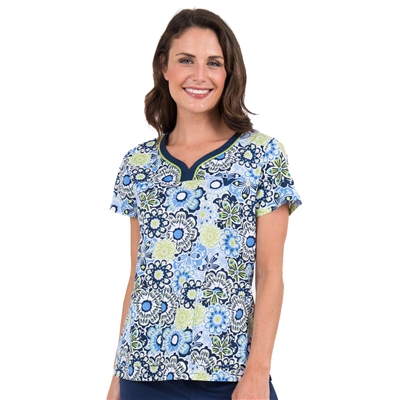 Med Couture MC2 Lexi Top in Floral Parade