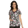 Med Couture MC2 Lexi Top in Floral Shapes