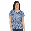 Med Couture MC2 Lexi Top In The Blues