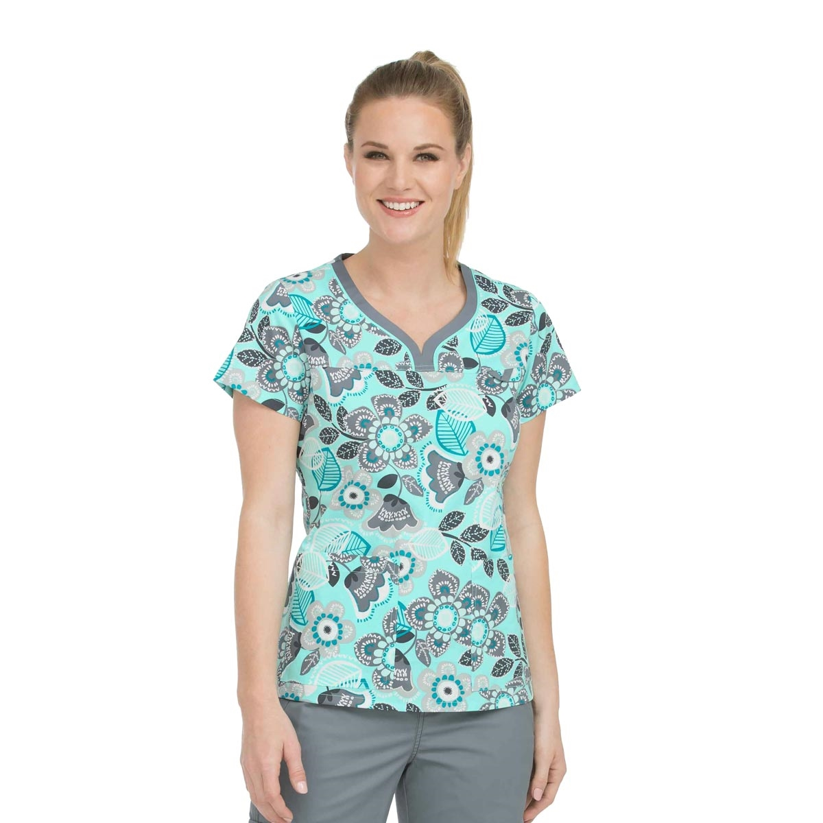 7ff4aa773e4 Med Couture MC2 Lexi Top in Tantalizing Floral View Larger Photo