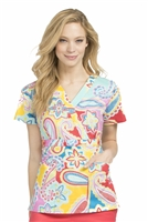 Med Couture Milan Print Top in Spring Into Paisley