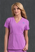 Med Couture Milan Top in Amethyst - $25.99