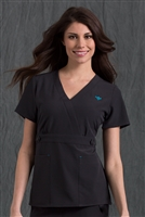 Med Couture Milan Top in Black - $25.99