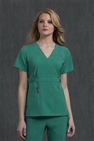 Med Couture Milan Top in Jewel - $25.99