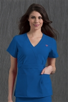 Med Couture Milan Top in Royal - $25.99