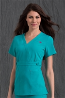 Med Couture Milan Top in Splash - $25.99