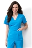 Med Couture Milan Top in Ultra Blue - $25.99