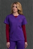 Med Couture Media Top in Imperial/Berry - $25.99