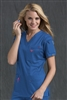 Med Couture Media Top in Royal/Passion Pink - $25.99
