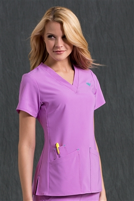 Med Couture Riviera Top in Amethyst - $25.99