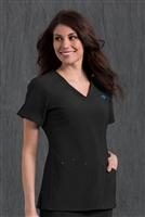 Med Couture Riviera Top in Black - $25.99