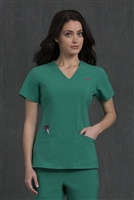 Med Couture Riviera Top in Jewel - $25.99