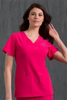 Med Couture Riviera Top in Pink Sorbet - $25.99