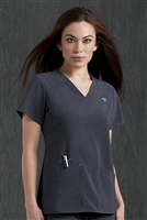 Med Couture Riviera Top in Steel - $25.99