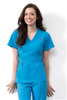 Med Couture Riviera Top in Ultra Blue - $25.99