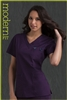 Med Couture Moda Top in Eggplant/Teal - $23.99