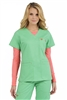 Med Couture Moda Top in Key Lime/Apricot - $23.99