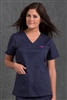 Med Couture Moda Top in Navy/Bora Bora Pink - $23.99