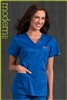 Med Couture Moda Top in Royal/Passion Pink - $23.99