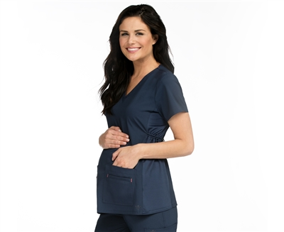 Med Couture Maternity Scrub Top